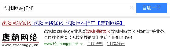沈阳网站优化排名
